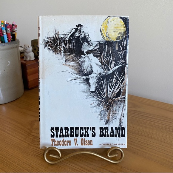 DoubleDay (Publishers) Other - Vintage Starbuck's Brand Western by Theodore Olsen